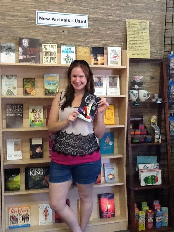 One of our favorites, Marissa Meyer, stopped by last August to sign some books. Book 3 of the Lunar Chronicles, Cress, comes out tomorrow(2/4/14)! $18.99 hardcover