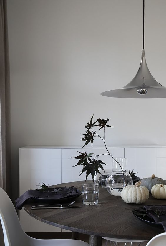 déco de table halloween 2019 ambiance scandinave