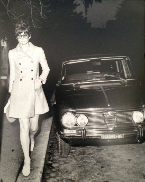 Audrey Hepburn #alfaromeo