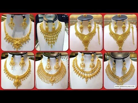 Youtube Dubai Gold Jewelry Gold Necklace Designs Gold Jewelry