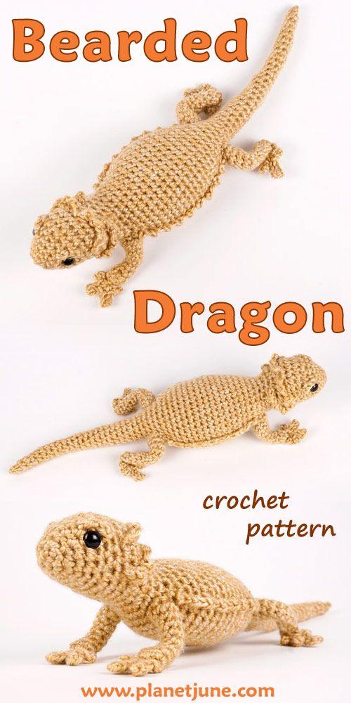 Dragon amigurumi animal Knitting pattern