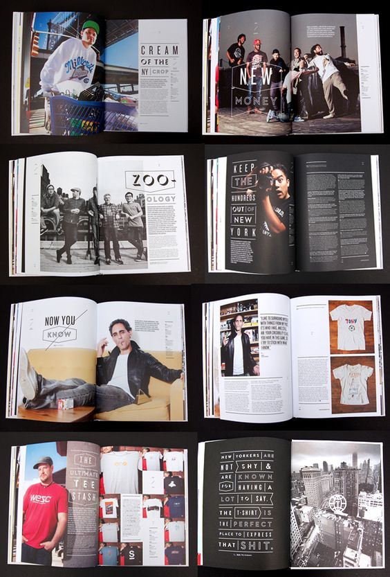 MagSpreads - Magazine Design and Editorial Inspiration: T-world: The Journal of T-Shirt Culture