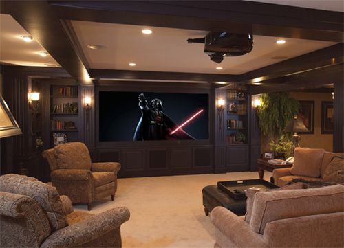 Home Theater Ideas   Cabinets To Hide Speakers? | Basement Theater! |  Pinterest | Speakers, Basements And Room Part 97