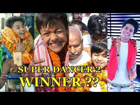 Super Dancer 2 Winner Super Dancer 2 Top 4 Finalist Name