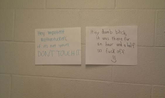 so shit is going down in my dorm's laundry room - Imgur