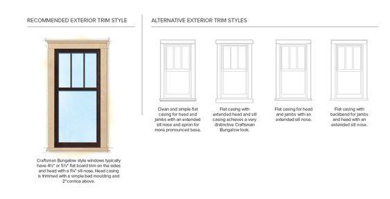 Craftsman exterior trim details craftsman bungalow home for Craftsman exterior trim details