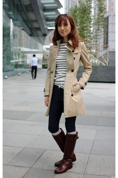 trench coat com vestido - Pesquisa Google