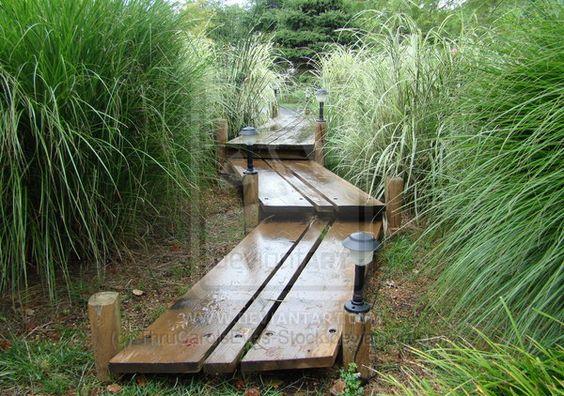 Wood Garden Art Wooden Walkway Japanese Garden By Thrucarolseyes Stock World Of Wondering