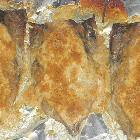 Baked Fish With Parmesan Sour Cream Sauce Recipe Orange Roughy Recipes Baked Baked Fish Sour Cream Sauce