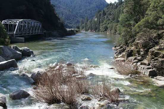 Feather River Canyon In Oroville