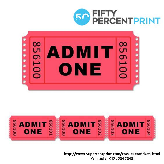 Birthday Party Decorations 300 Tickets Movie Night Tickets Admit One Tickets Carnival Tickets