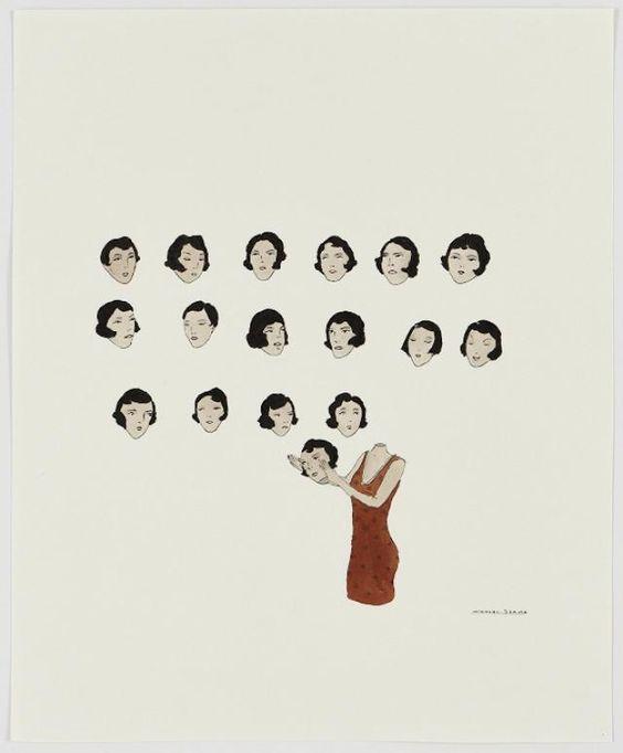 Love the drawings by Marcel Dzama