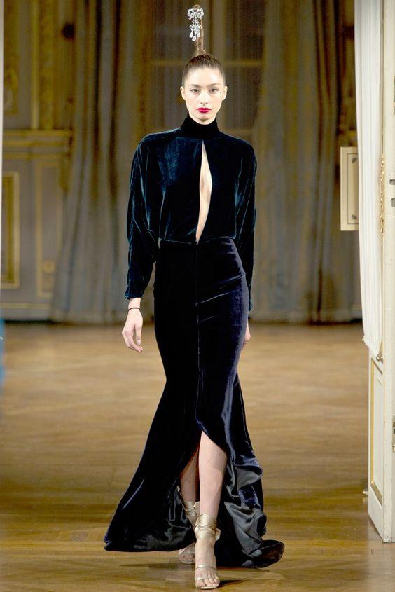 Alexis Mabille Fall 2012 Couture Fashion Show - Alexandra Agoston-O'Connor