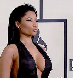 Nicki Minaj hot giffs at The 57th Annual GRAMMY Awards in LA (Feb.8, 2015)