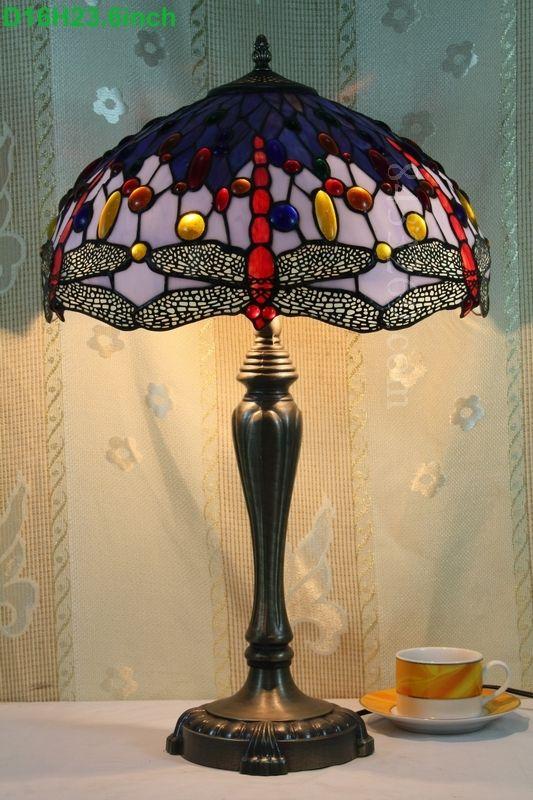 Dragonfly Tiffany Lamp  16S4-301T246