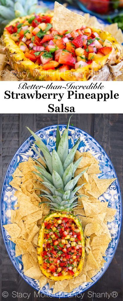 Better-than-Incredible Strawberry Pineapple Salsa - California Unpublished