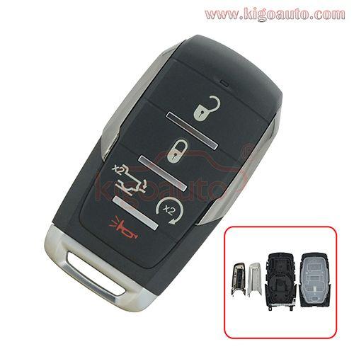Fcc Oht 4882056 Smart Key Case 5 Buttton For 2019 2020 Dodge Ram 1500 Pn 68291691ad Dodge Ram 1500 Smart Key Dodge Ram