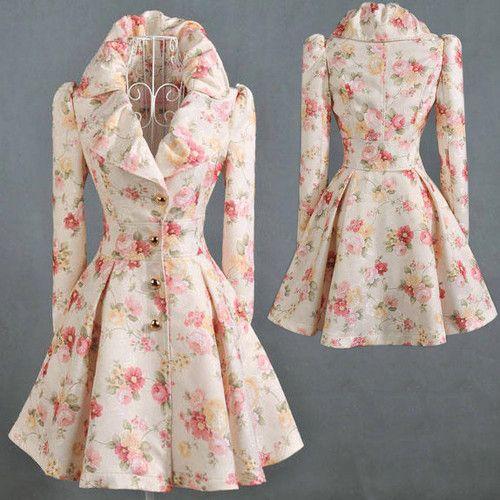 Womens Vintage Coats 112