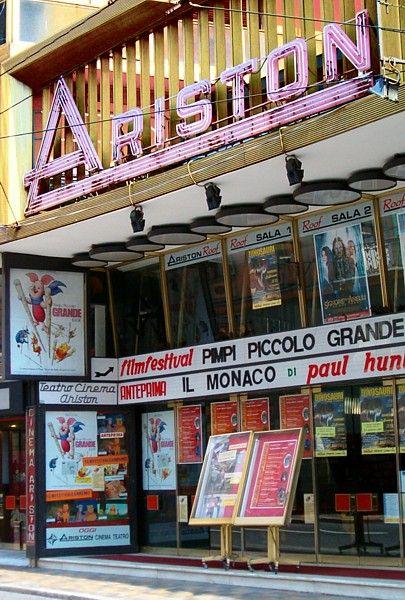 Il Teatro Ariston Festival Sanremo city where I was born