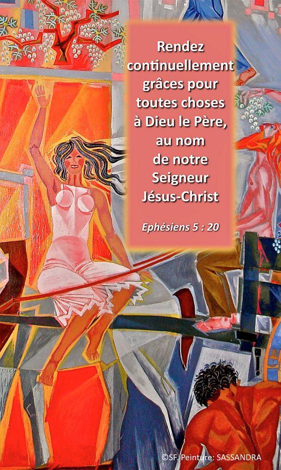 https://flic.kr/p/zN9jmX   Ephésiens 5 : 20   Ebenezer Halleluiah creation Jacques-Richard Sassandra painting, Vaux-sur-Seine Evangelical Faculty, France 01/14/2015