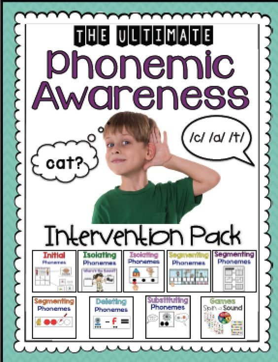 phonemic awareness on pinterest