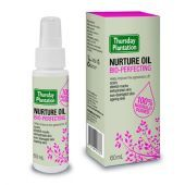 Thursday Plantation Bio-Perfecting Nurture Oil. Nurture Oil decreases the visibility of scars and stretch marks.It also improves the appearance of pigmentation, dry and ageing skin.