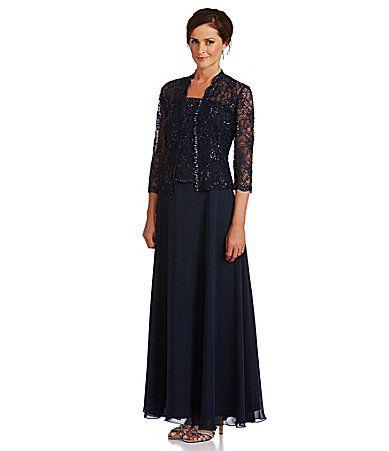 km collections lace jacket dress dillards wedding ideas