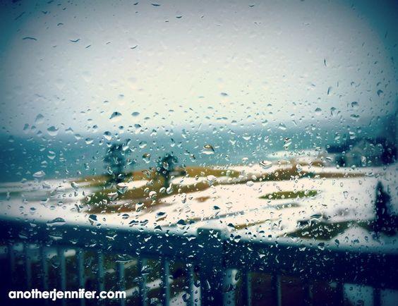Wordless Wednesday (2.17.16): Rainy Ocean View by Jennifer Iacovelli | anotherjennifer.com