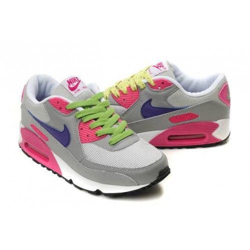 salomon bottes de qu te - 312334-061 Nike Air Max 90 Premium Gris Rose Blanc DW03002 ...