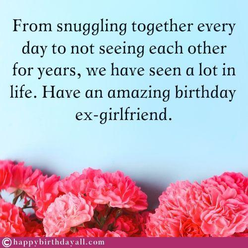 50 Happy Birthday Wishes For Ex Girlfriend Birthday Poems For Ex Gf Birthday Wishes For Love Best Happy Birthday Message Birthday Wishes