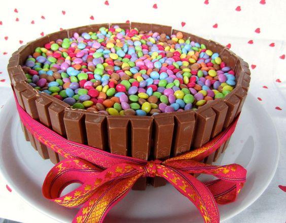 Kit Kat - smarties : LE gâteau d'anniversaire !