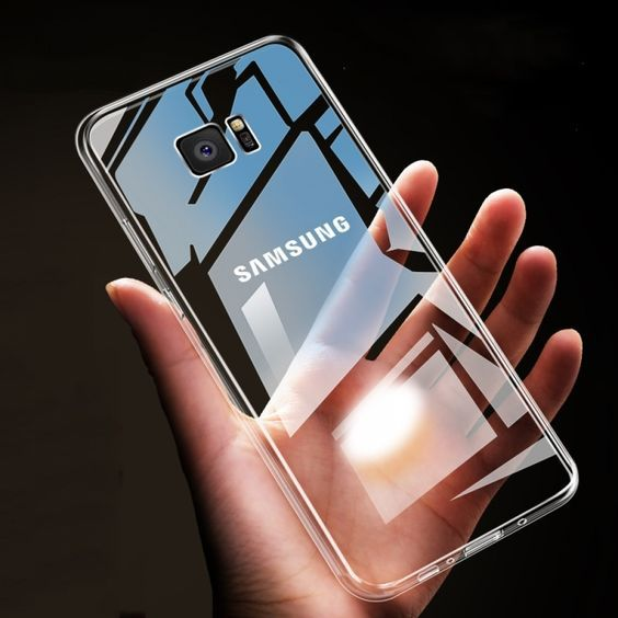 Soft Transparent Phone Case For Samsung Transparent Phone Case