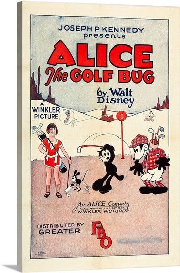 Alice the golf bug, 1927 wall art