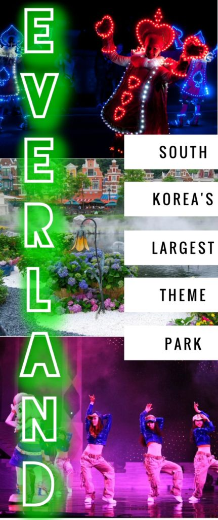 South Korea's largest theme park, Everland Korea delights tourists and locals alike with its variety of rides, including the famous T-Express roller coaster!