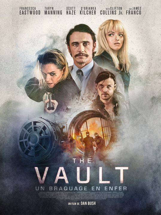 The Vault French Dvdrip 2018 Film Films Complets James Franco