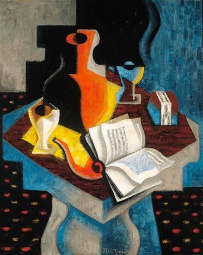 Jean Metzinger, still life -1919