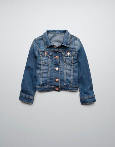 DENIM JACKET - Coats - Girl (2-14 years) - Kids - ZARA United States  $39.90