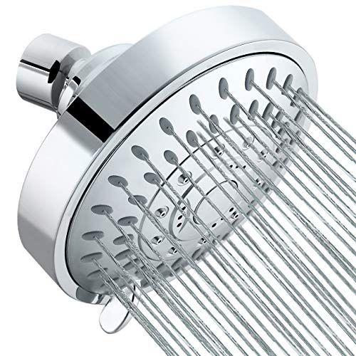 Tibbers High Pressure Shower Head 5 Settings Showerhead W Https