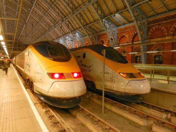 Viajes ferroviarios de ayer, hoy y mañana: En tren, bajo el Canal de la Mancha