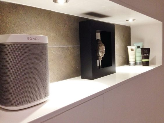 Finally A Speaker For My Bathroom Thank You Sonos Jeroen P And His Play 1 Pinterest Speakers