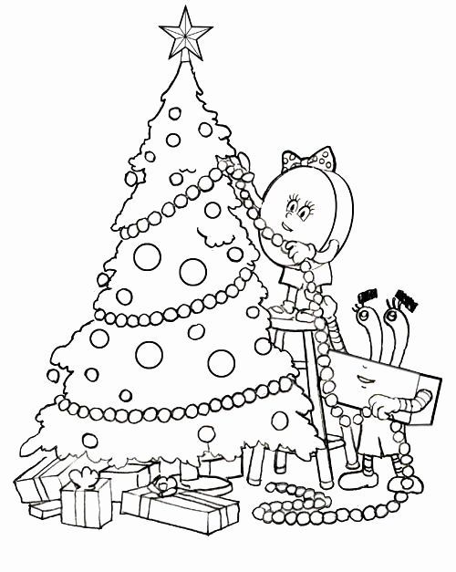 Kawaii Christmas Coloring Pages Elegant Cute Christmas Coloring Pages Kids Christmas Coloring Pages Christmas Coloring Pages Christmas Tree Coloring Page