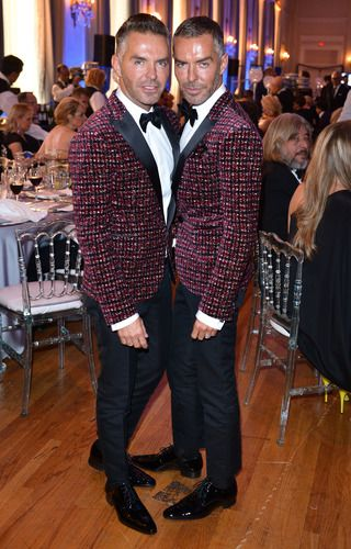 Fashion Cares Dinner: Dean & Dan Caten of DSquared2 / Photos by George Pimentel