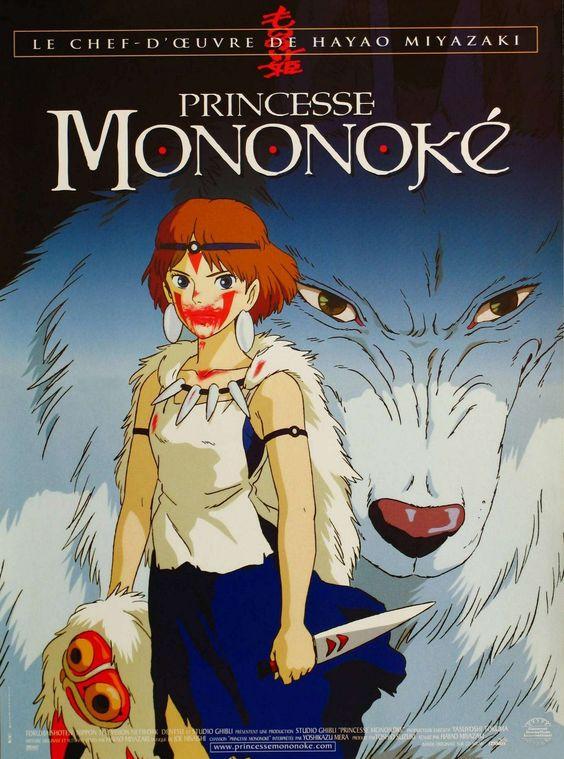 Phim Công Chúa Sói   Mononoke Hime Mononoke Princess