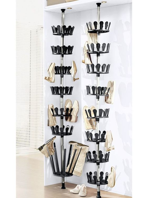 idee d co facile rangement pratique tourniquet a. Black Bedroom Furniture Sets. Home Design Ideas