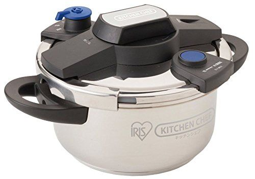 IRIS OHYAMA easy opening and closing pressure cooker 4L EHKPC40E ** You can get…
