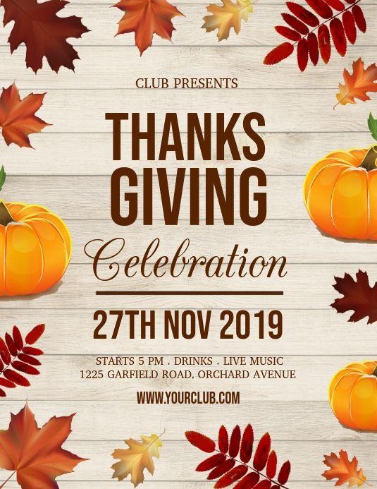 Thanksgiving Flyer Thanksgiving Sale Turkey In 2020 Thanksgiving Poster Event Flyer Templates Thanksgiving Sale