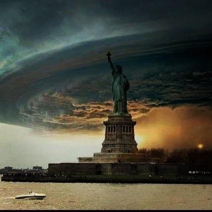 Hurricane Sandy . Superstorm Ny