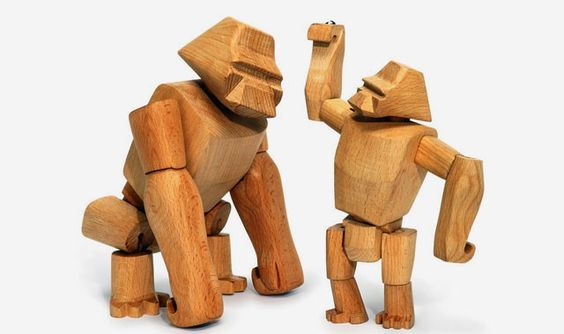 Hanno Gorilla Wood Toys