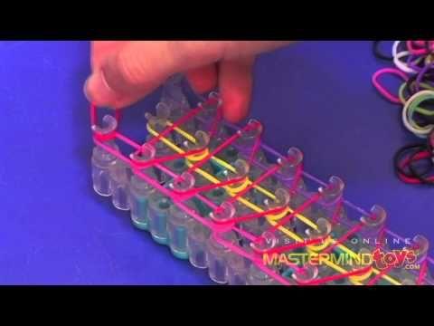 How To: Make the Rainbow Triple Single Bracelet!