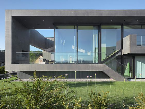 Architektenhaus so edel wohnst du in der schweiz